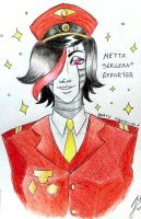 Mettaton Sargeant by EdgySexyBot