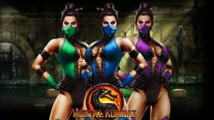 MK9 DLC girls by AdrianJames