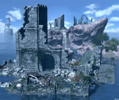 Ruined Resort by Hera-of-Stockholm