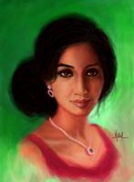 Shreya Ghoshal by Nickster098