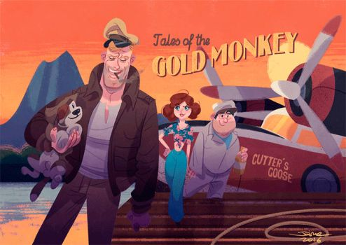 Tales of the gold monkey by JaimePosadas