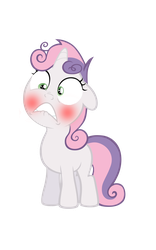 Sweetiebelle,Why are you giving me that look? by PureZparity