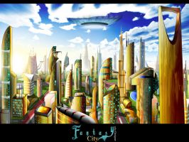 :: Fantasy City :: by uAe-Designer