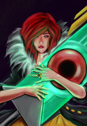 Red from Transistor by Vladiftimescu