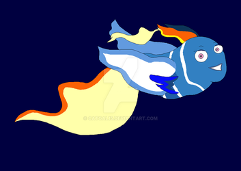 Marlin And Dory's Daughter - Finding Nemo by CatGal15