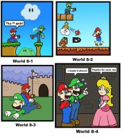 SMB: World 8 by minimariodrawer