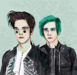 i dont know how but they found me by Farewell-BlackParade