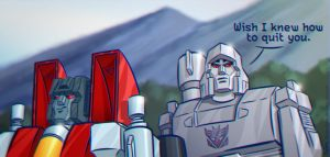 Megatron and Starscream by SuperEdco
