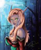 Blood Elf  01 by Black-Strawbarrie