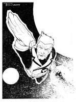 Guy gardner gL by artist Tom Kelly by TomKellyART