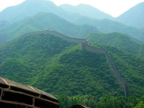 Great Wall of China by Nkahler