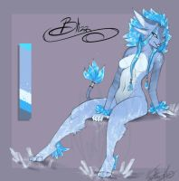 Blizz the Icemane by Vexstacy