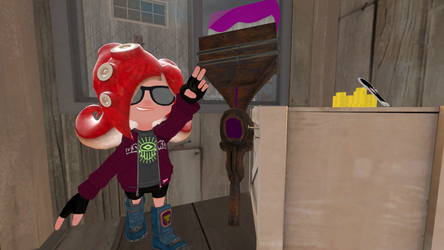 My octosona by Animekid808