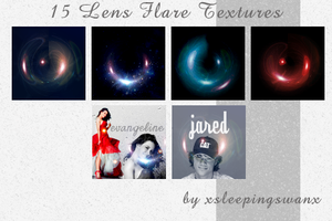 Lens Flare Textures by xsleepingswanx
