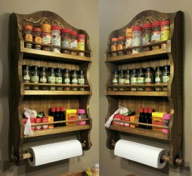''The Westwood'' Spice Rack by VictorianSpectre