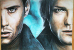 Carry On Wayward Son: Supernatural pencil drawing