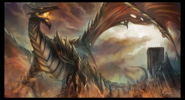 Dragon by maxime326