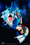 BGeek - Clair Cosplay with Gyarados (3) by Domadraghi