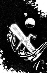 038-silver Surfer by abelgrave