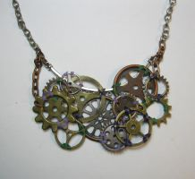 An Arrangement of Cogs - Steampunk Mardi Gras by DanielleDucrest