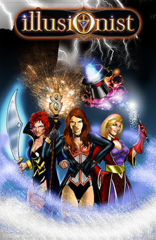 Illusionist Cover Commission by Cadre