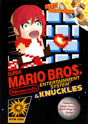 Super Mario Bros and knuckles by Antogames