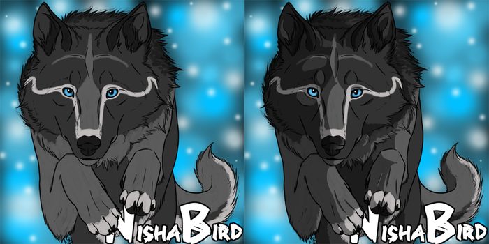 Canine Badge Commissions: Open by NishaBird