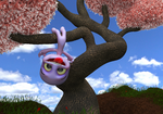 Zbrush Doodle: Day 1312 - Upside Down In A Tree by UnexpectedToy