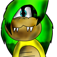 iggy koopa colored by BrandyKoopa92
