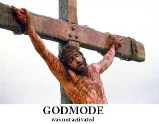 GOD MODE - was not activated by meanboss