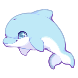 Cute Dolphin by Kakiwa