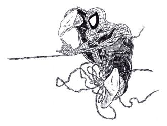 Spidey stylo by louboumian