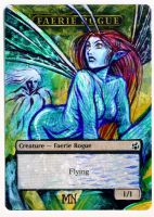 Oona Fae Token - MTG Alter by seesic