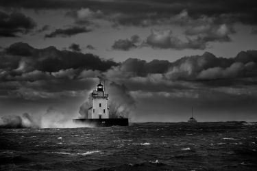 whiskey Island light house by BillyRWebb