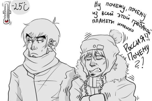 severe Russian winter by MindlessKate