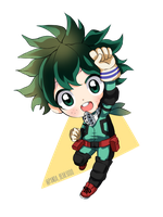 Chibi Deku! One for All by PandaBear3000