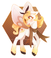 [AUCTION] Ribombee-inspired pony adopt 008(CLOSED)
