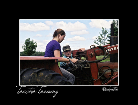 Tractor Training by mags253
