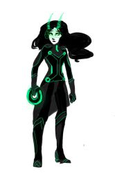 Tron Redesigns: Lady Loki by Myoubichan