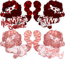 A| Valentine's Day Manticores Adopts! (Open!) by ValkyrKrissy