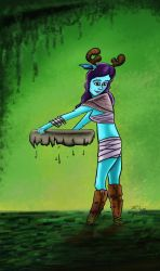 Kaime, the lady of the swamp by ricksd