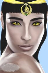 Bastet by Tricia-Danby
