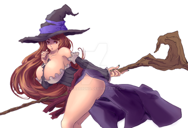 (Dragons Crown) Sorceress series 2 by BulbaBruno