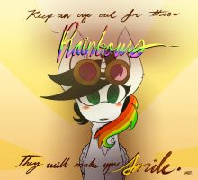 The Colorful Catchphrase by Pastel-Script