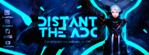 Banner Facebook l Distant The ADC by Asunaw