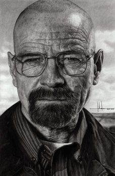 Walter White from Breaking Bad by SubliminAlex