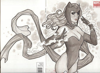 Scarlet Witch Commission by MarioChavez