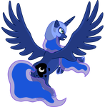 Princess Luna by Malte279