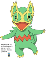 Kecleon Pixel Art