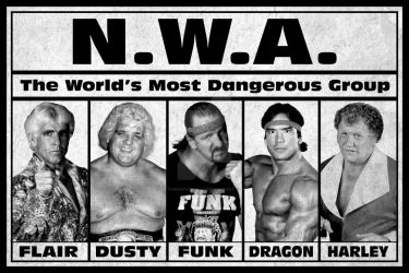 NWA DANGEROUS POSTER by TheIronSkull